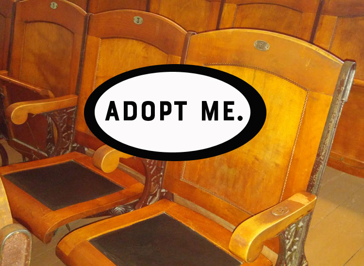 Adopt a seat in the Haskell Opera House